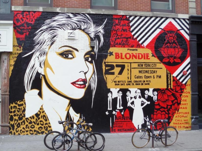 Shepard Fairey, Bowery, New York, October 2017