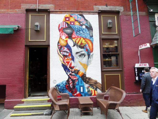 Tristan Eaton, Little Italy, New York, October 2017