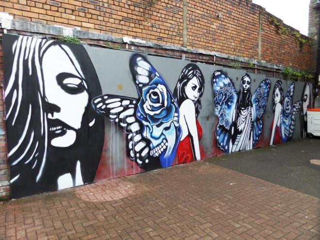 Gemma Compton and Copyright, Upfest, Bristol, July 2017