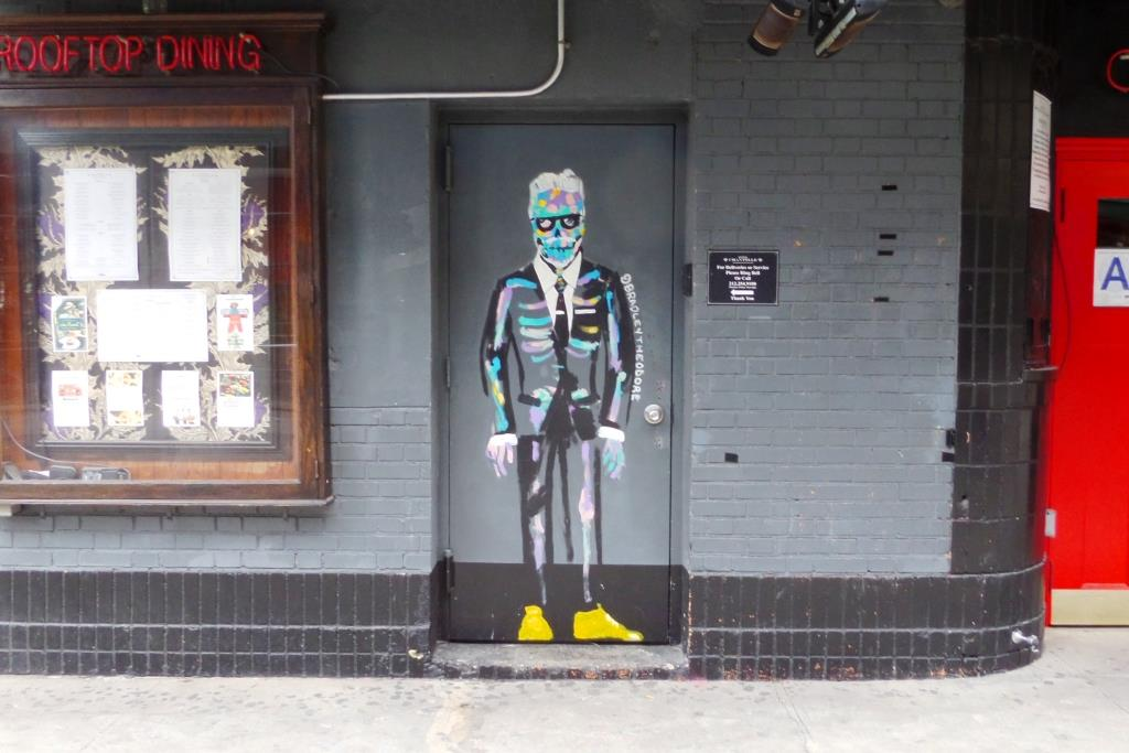 Thursday door, Bradley Theodore, New York
