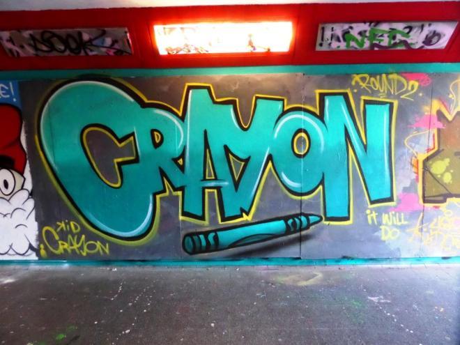 Kid Crayon, The Bearpit, Bristol, November 2017