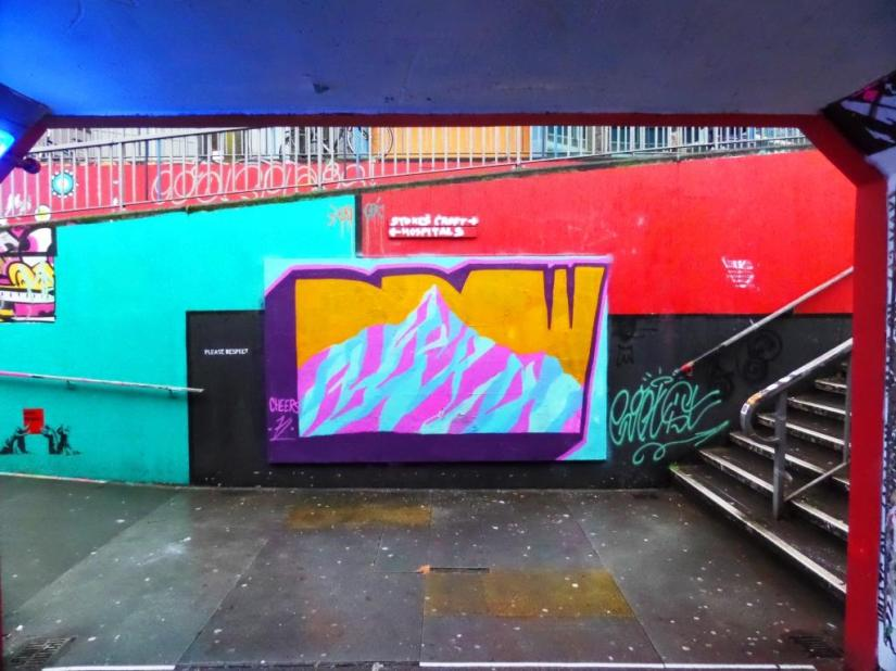 Mr Draws, The Bearpit, Bristol, January 2018