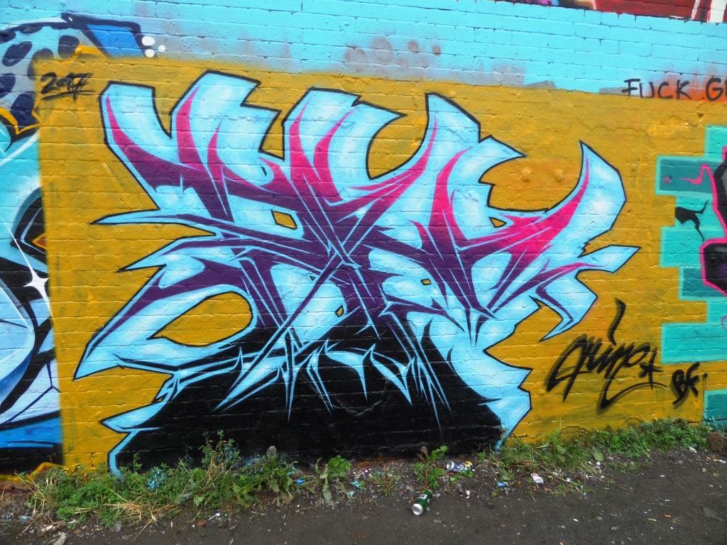 Hire, Dean Lane, Bristol, July 2017