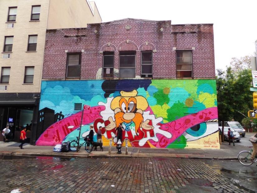 John Matos, Bower Street, New York, October 2017