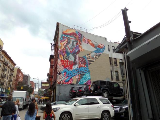 Tristan Eaton, Broome Street, New York, October 2017