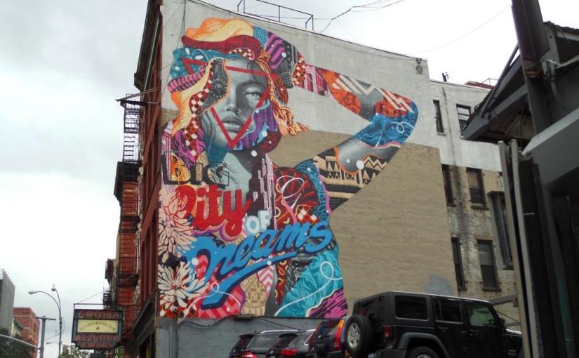 Tristan Eaton, Broome Street, New York, October 2017