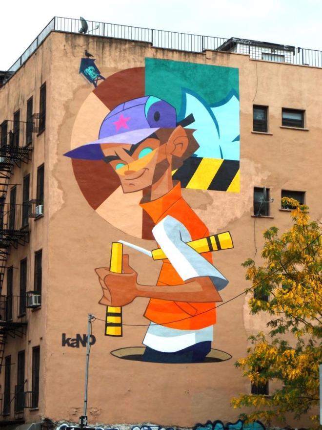 Kano, Rivington Street, New York, October 2017