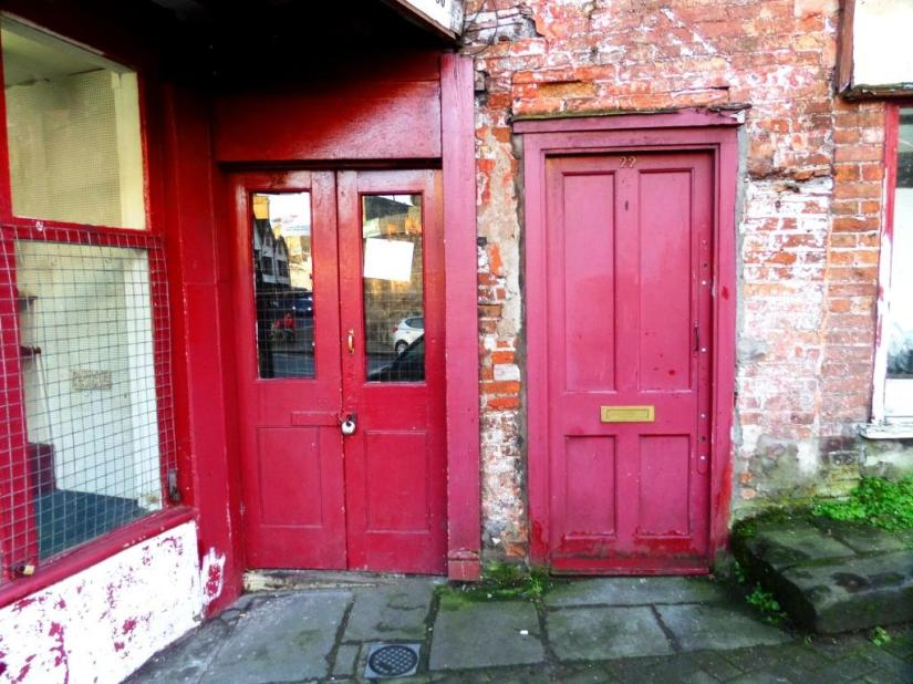 Door, Pastimes, Lower Park Row, Bristol