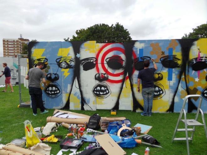 id-iom, Upfest, Bristol, July 2017