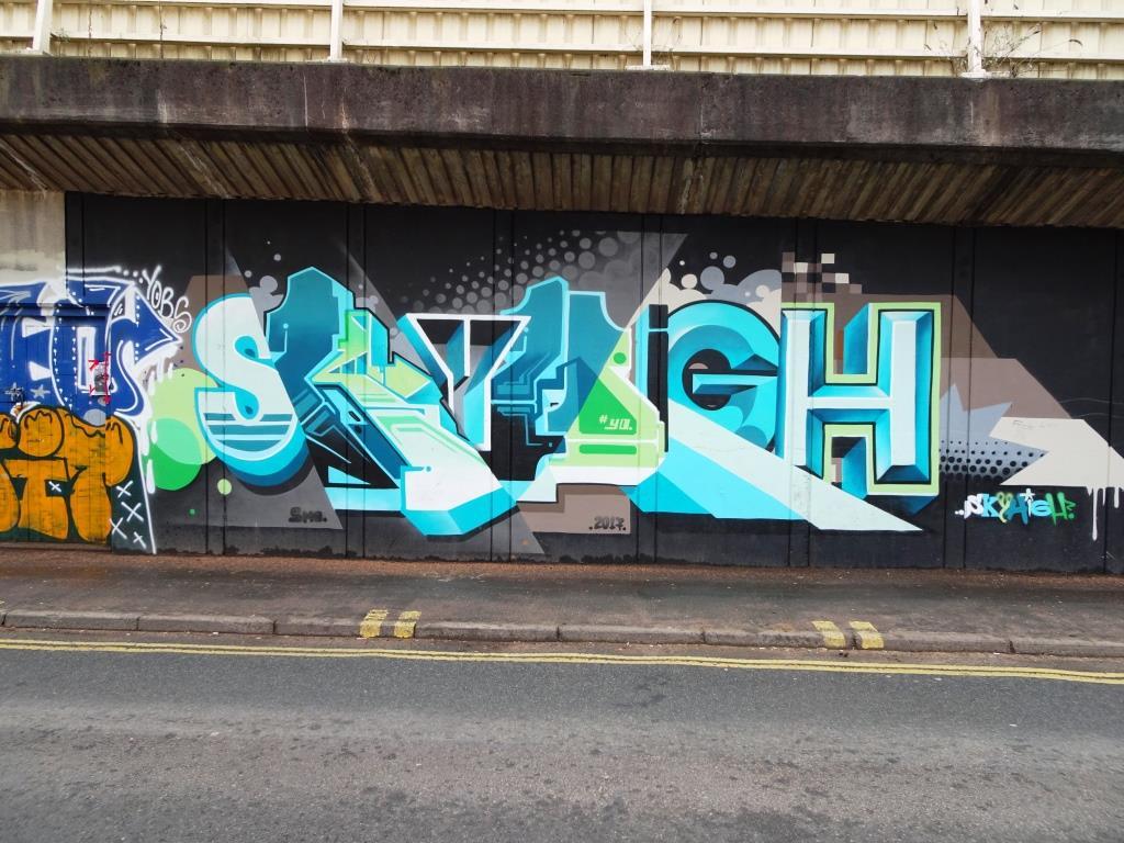 SkyHigh, M32 Spot, Bristol, February 2018