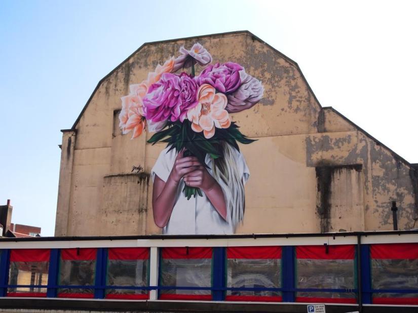 Jody, Charlotte Street, Bristol, February 2018
