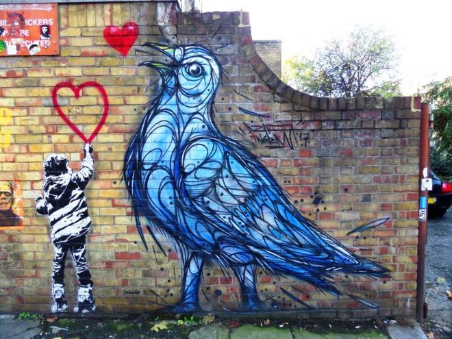 Dzia, Castlehaven Road, Camden Town, November 2017