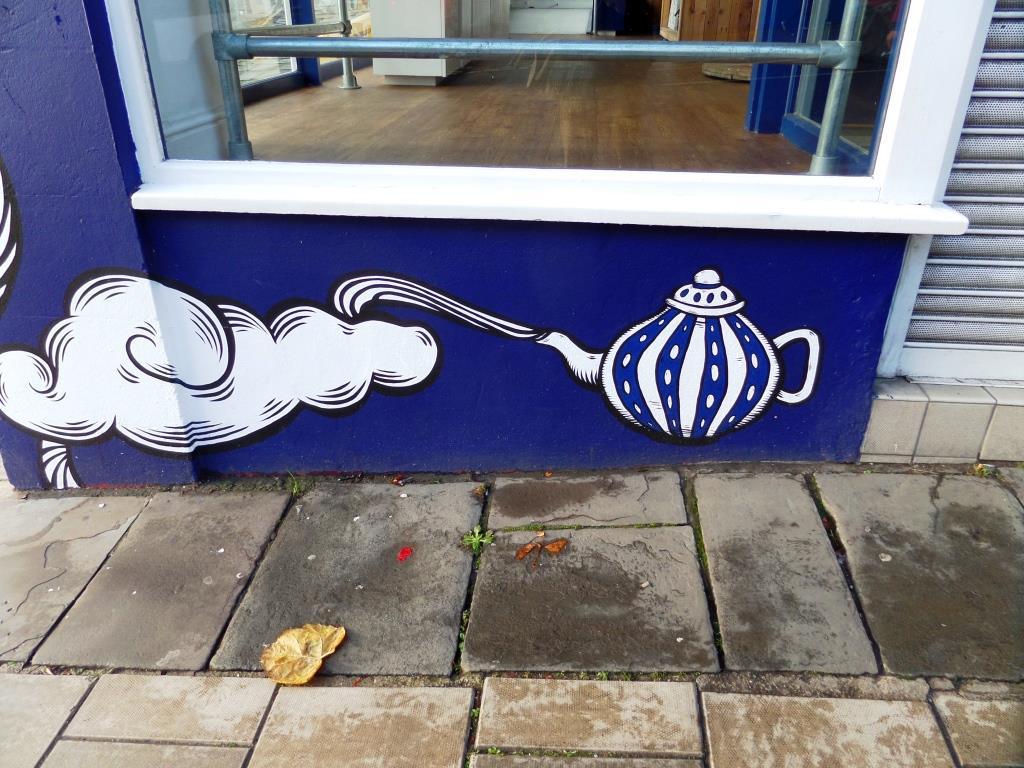 Alex Lucas, Charlotte Street, Bristol, November 2017