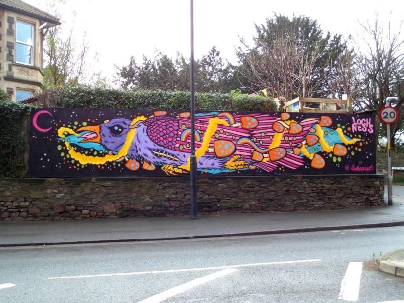 Loch Ness, Jessop Underpass, Bristol, December 2017