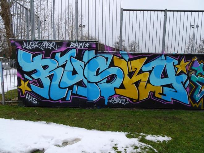 Rusk, Horfield skate park, Bristol, March 2018