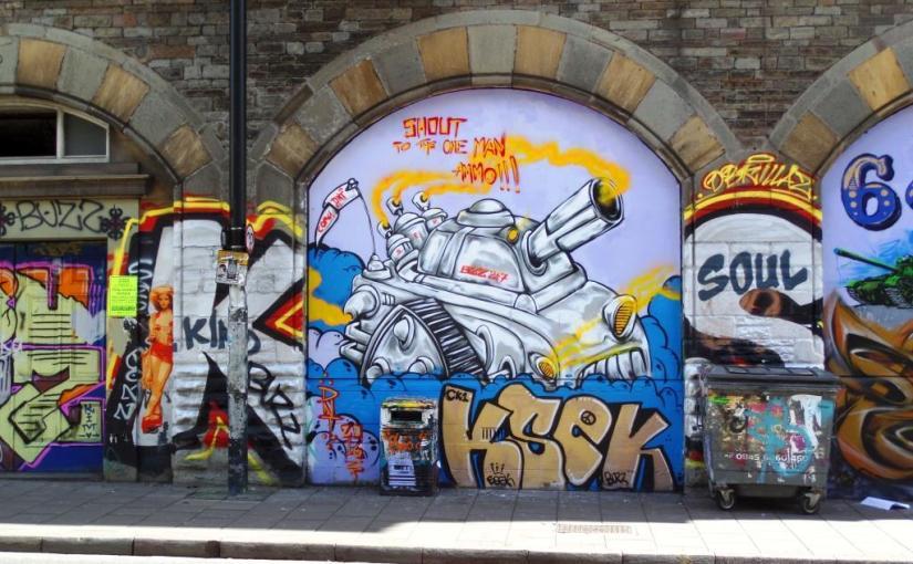 DNT, Stokes Croft, Bristol, April 2016