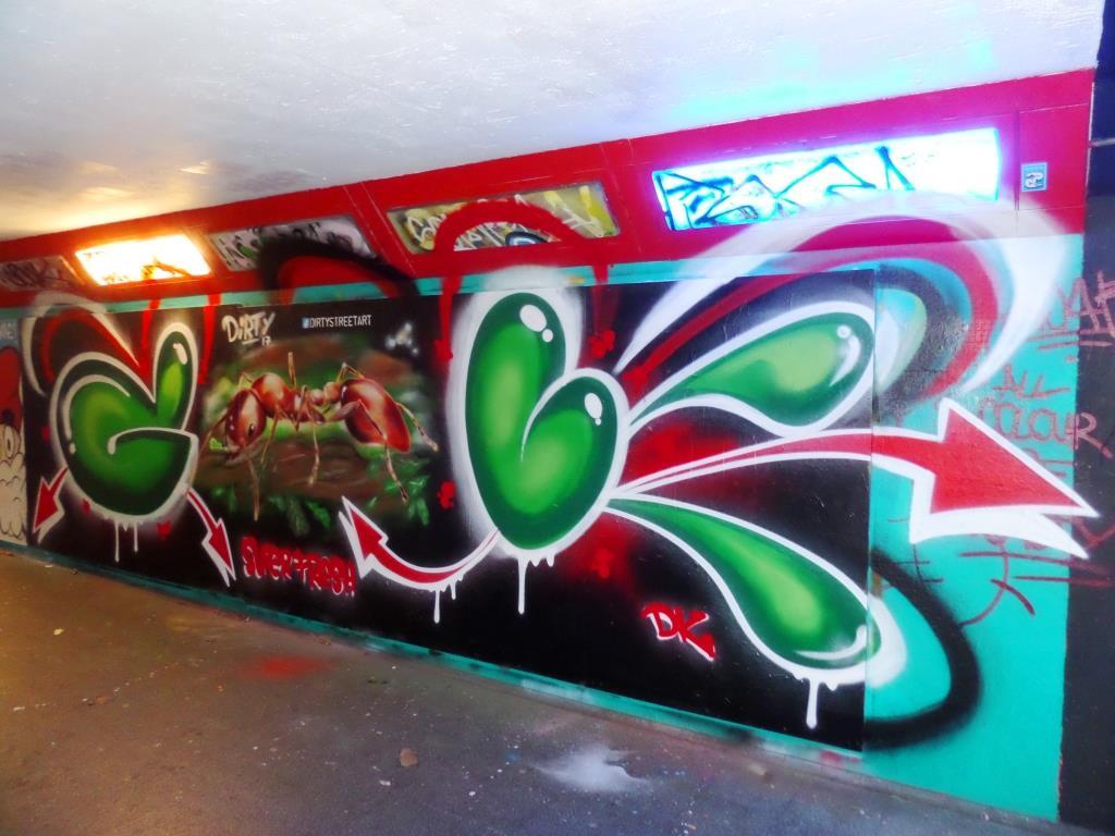Decay and Dirtystreetart, The Bearpit, Bristol, November 2017