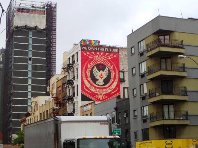 Shepard Fairey, Bowery, New York, October 2018