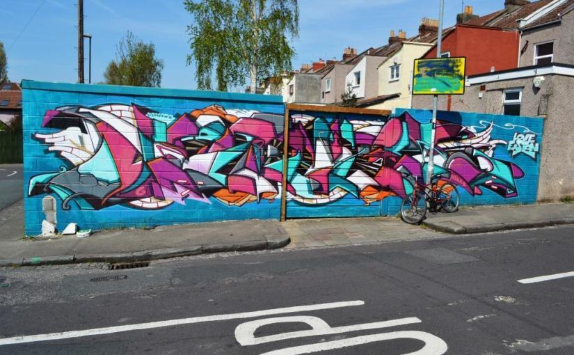 Deamze, Co-Operation Road, Bristol, May 2016