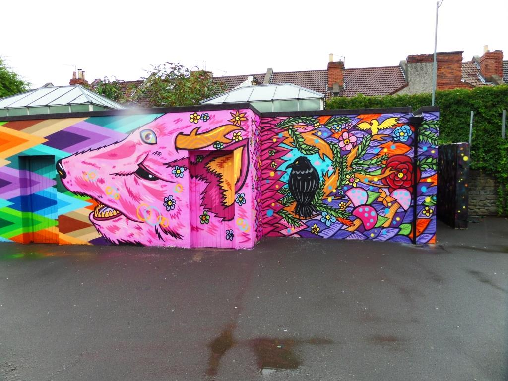 Paul Monsters and Loch Ness, Upfest, Bristol, July 2017