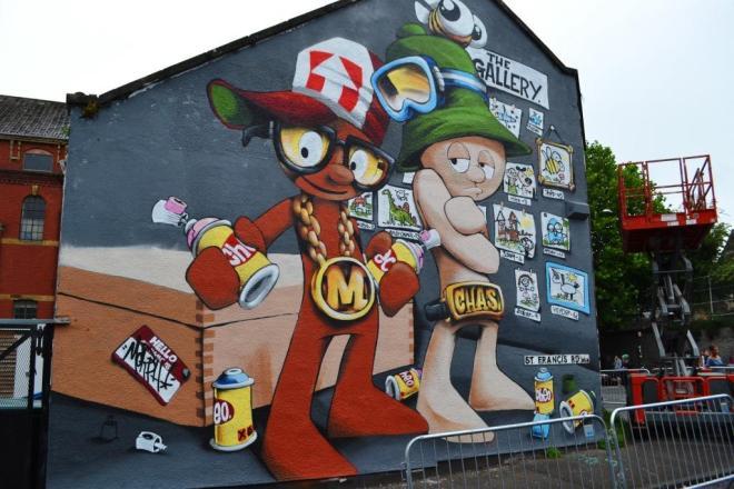 Cheo, Upfest, Bristol, July 2017