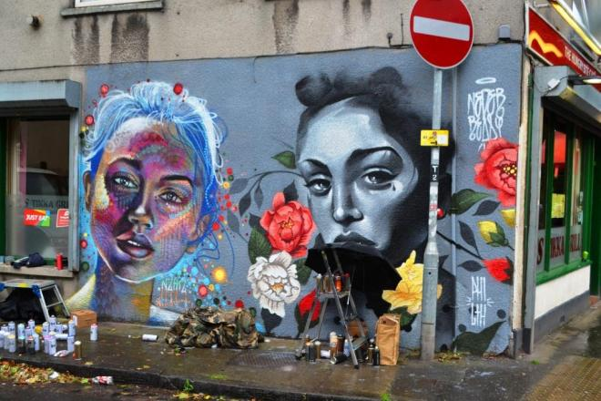 N4T4 and Philth, Upfest, Bristol, July 2017