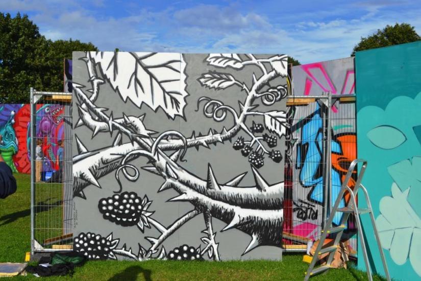 Drojan, Upfest, Bristol, July 2017