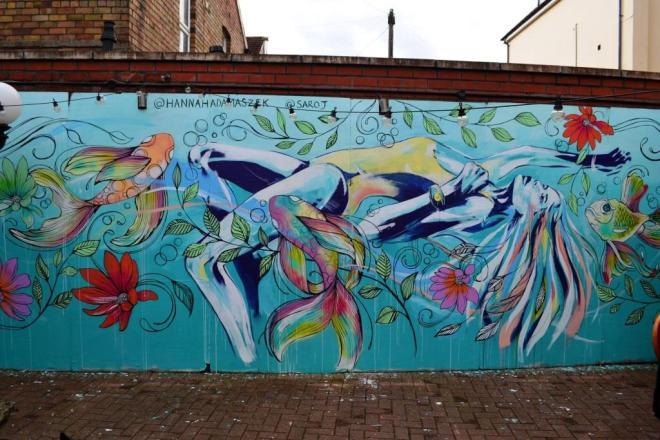Hannah Adamaszek and Saroj, Upfest, Bristol, July 2017