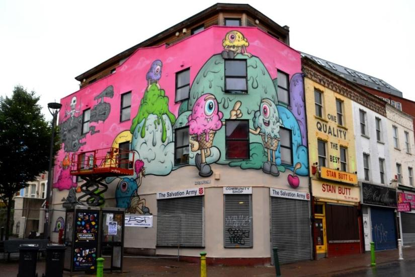 Buff Monster, Upfest, Bristol, July 2017