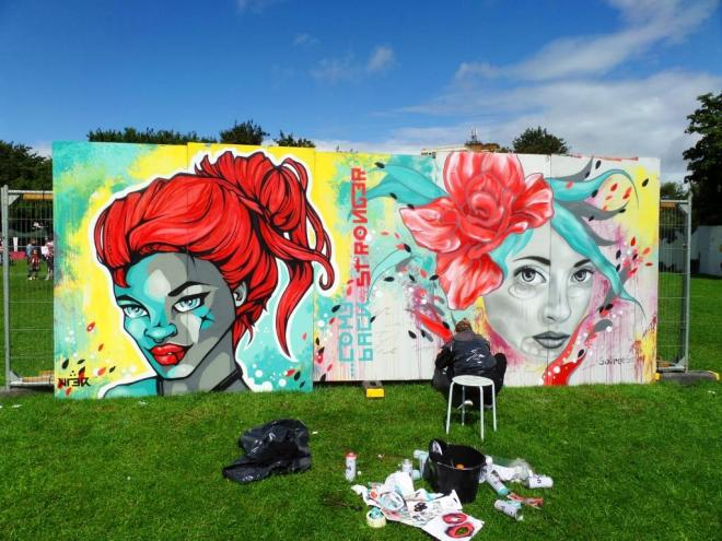 Kler and So Free So, Upfest, Bristol, JUly 2017