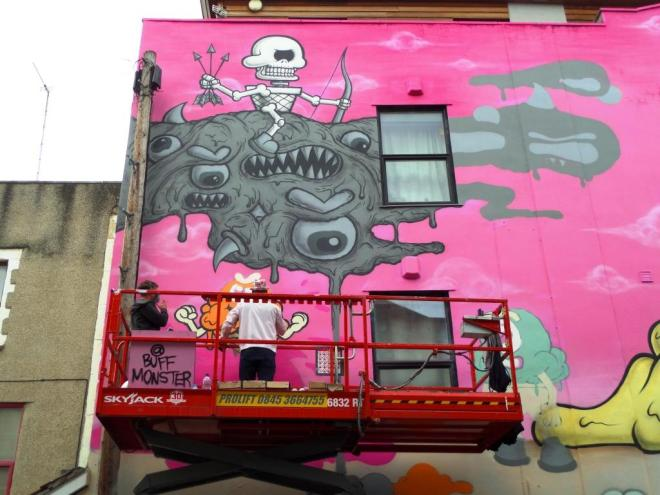 Buff Monster, Upfest, Bristol, July 2017