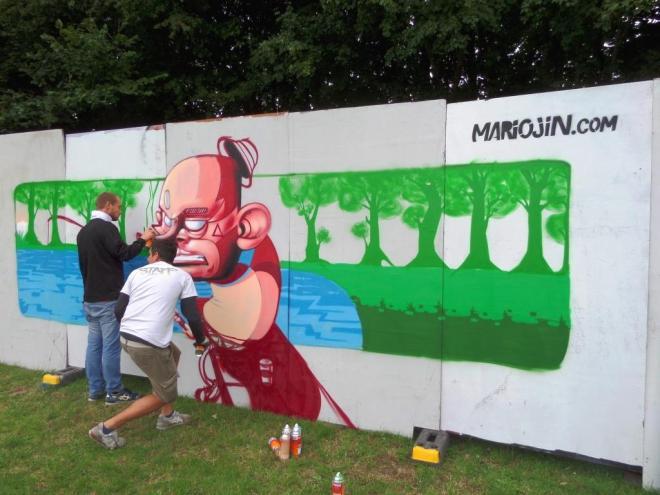 Mariojin, Upfest, Bristol, July 2017