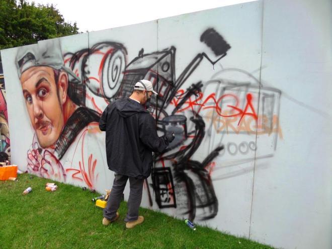 Braga Last1, Upfest, Bristol, July 2017