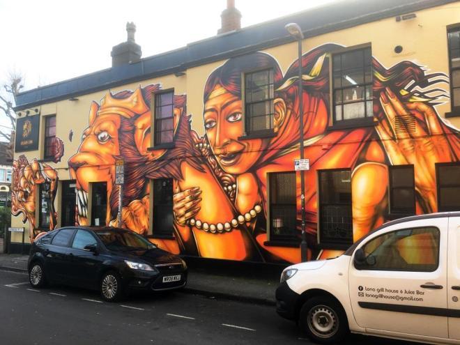 Sepr, Golden Lion, Bristol, February 2018