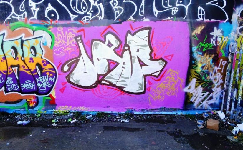 Ugar, Dean Lane, Bristol, April 2018