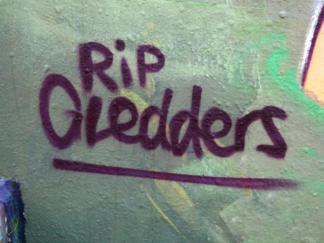 Kid Crayon, RIP Gledders, Dean Lane, Bristol, April 2018