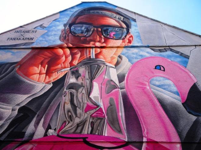 Insane51 and Fanakapan, Upfest, Bristol, July 2017