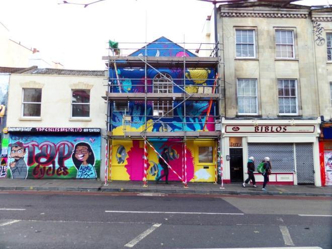 Alex Lucas, Stokes Croft, Bristol, December 2017