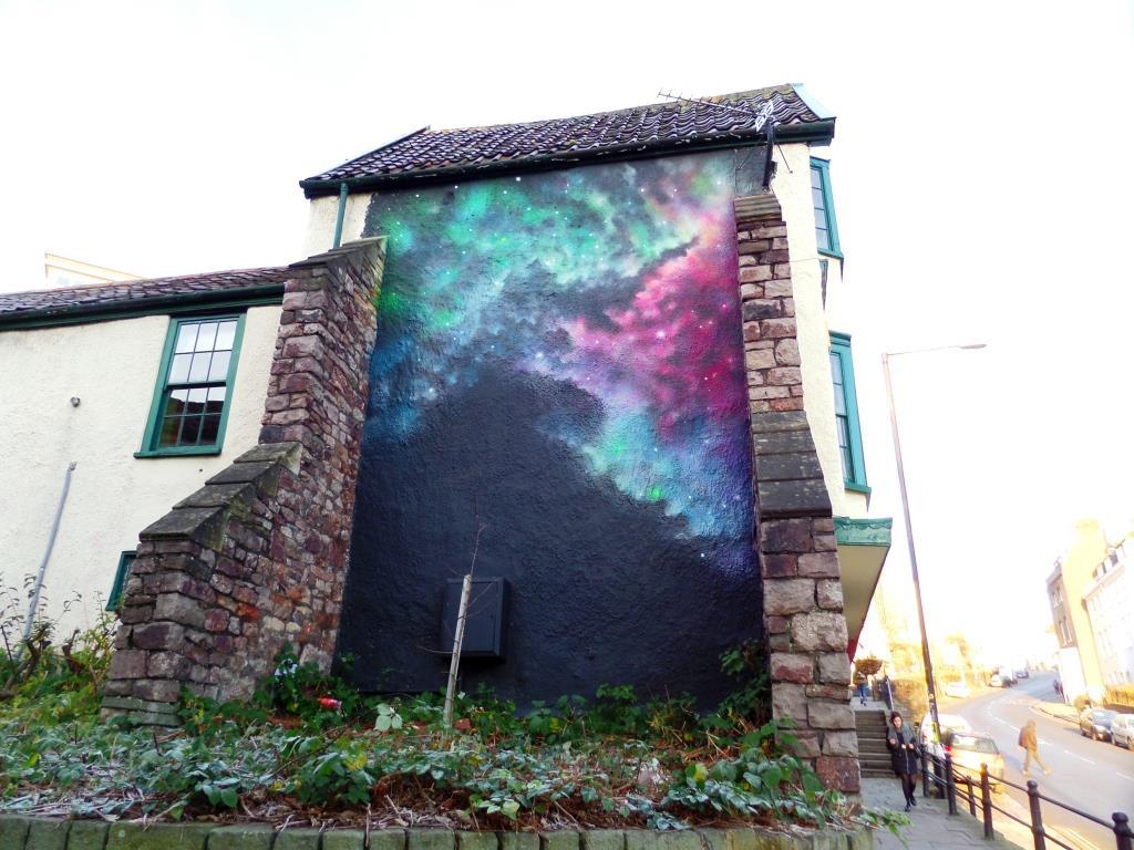 Cheba, St Michael's Hill, Bristol, December 2017