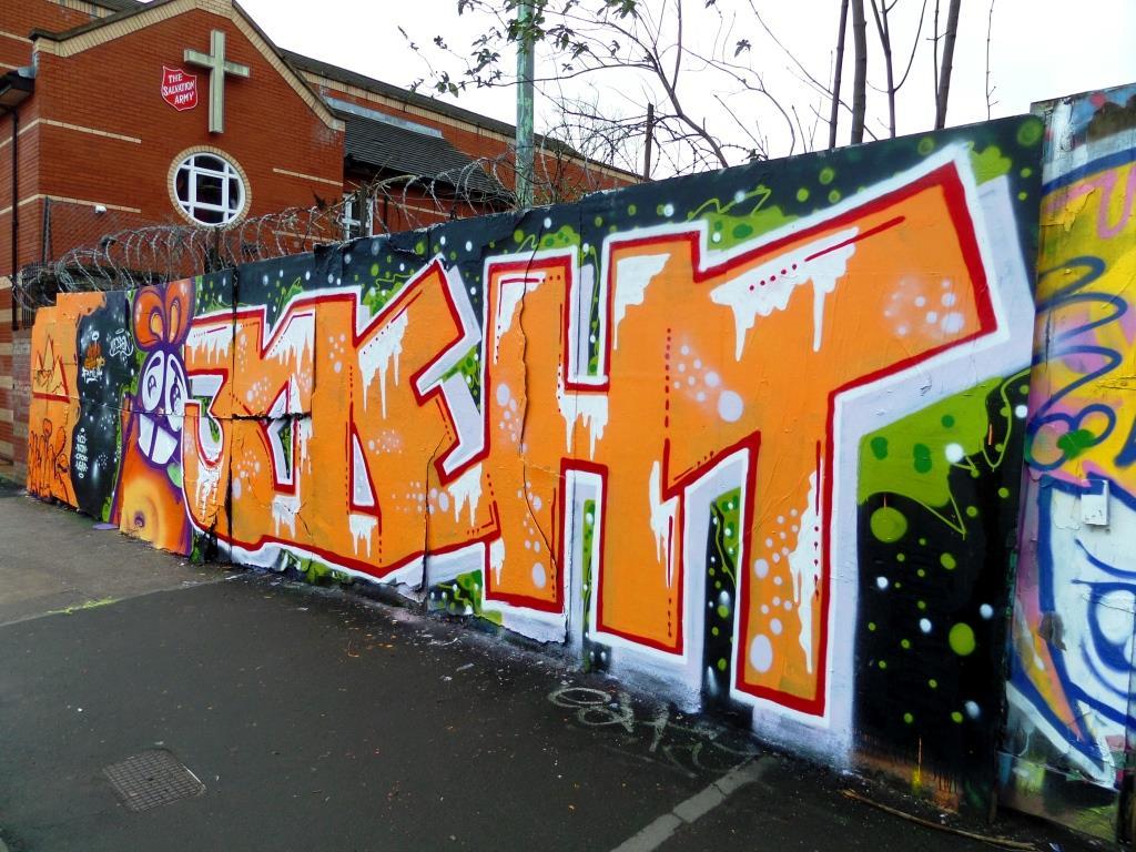 NEVERGIVEUP and Mr Draws, Ashley Road, Bristol, January 2018