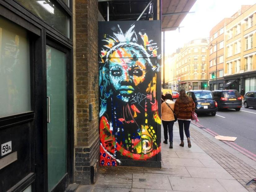 Raphael Gindt, Shoreditch, London, February 2018