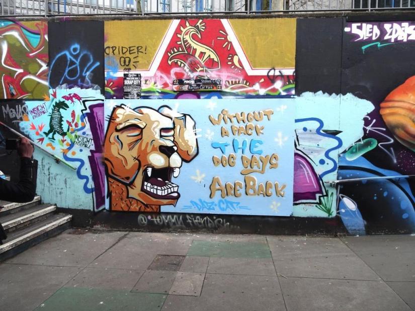 Daz Cat, The Bearpit, Bristol, April 2018