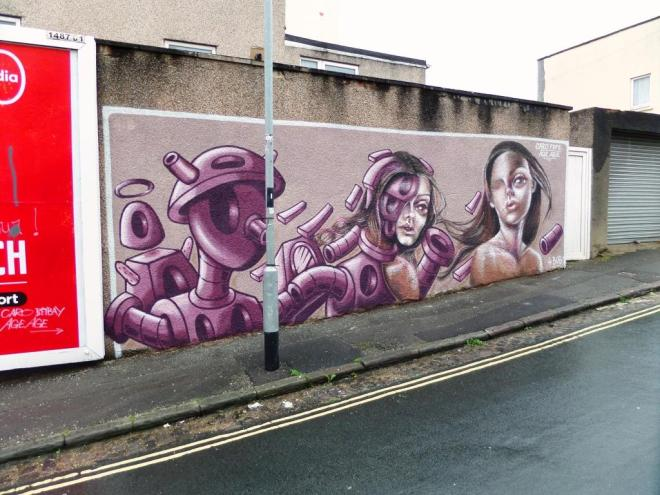 Age Age and Caro Pepe, Upfest, Bristol, July 2017