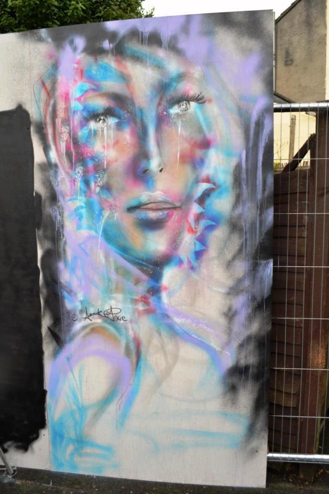 Annika Pixie, Upfest, Bristol, July 2017