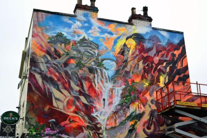 Will Barras and Xenz, Upfest, Bristol, July 2017
