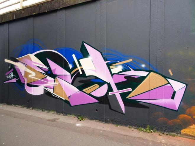 Epok, M32 roundabout, Bristol, May 2018