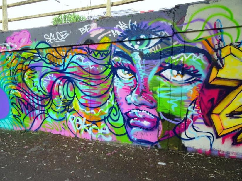 Pekoe, M32 roundabout, Bristol, May 2018