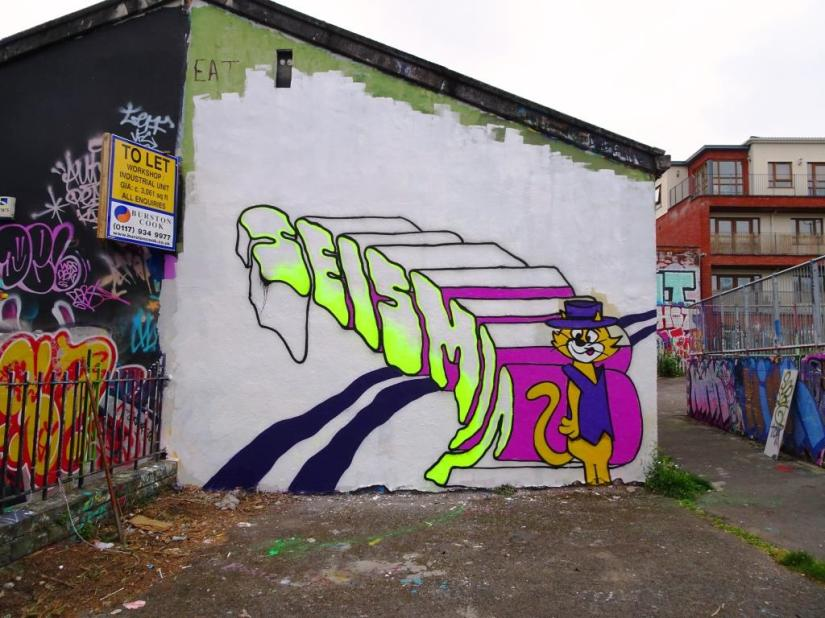 Top Cat by ?, Dean Lane, Bristol, May 2018