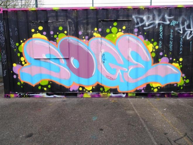 Soge, Dean Lane, Bristol, May 2018