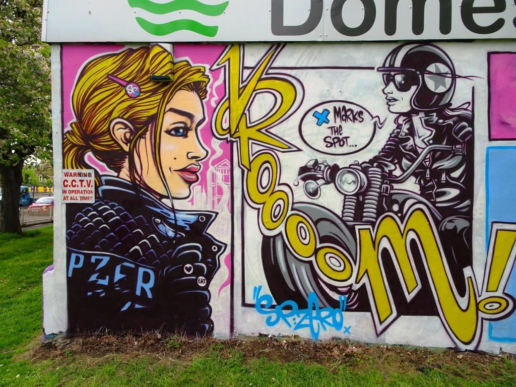 SPzero76 and Kid Crayon, Millpond Street, Bristol, May 2018